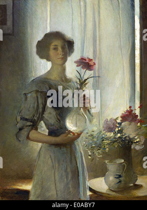 John White Alexander June - Stock Photo