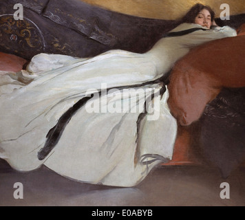John White Alexander Repose - Stock Photo