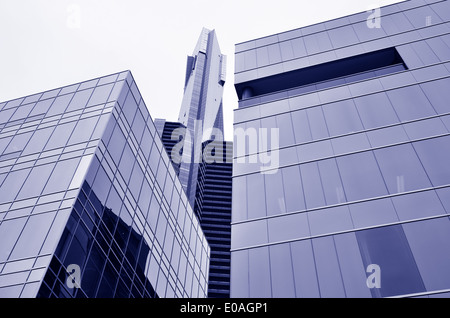 MELBOURNE - APR 11 2014:Eureka Tower, as of December 2013 it is the 14th tallest residential building in the world. - Stockfoto