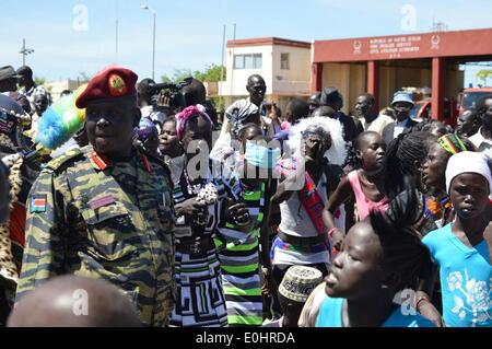 juba south sudan africa 11th may 2014 the tiger
