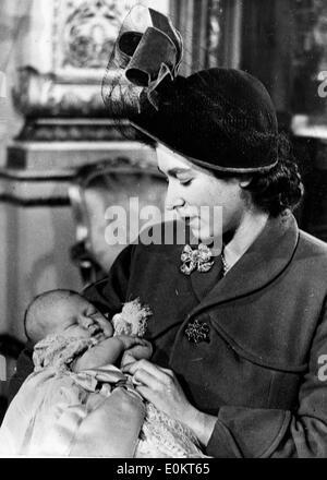 Queen Mother With Queen Elizabeth Ii Prince Charles