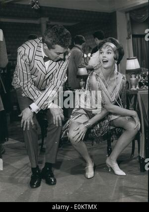 Jan 1, 1950 - Jive With The Stars: Actress Dawn Adams And Sydney Chaplin Have A Private Jive Session At Walton Studios - Stock Photo
