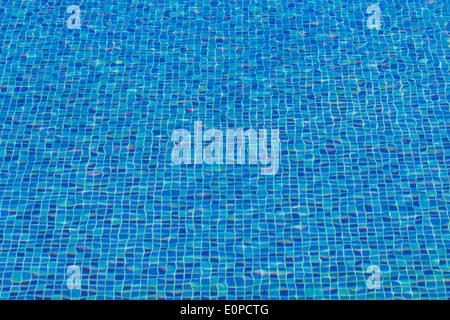 Ceramic Tile Mosaic In Swimming Pool Seamless Texture