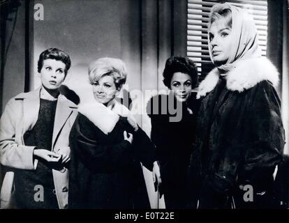 Jul. 07, 1960 - ''Call Girls''... ... is the title of the new Italian film in which the German, film and television - Stock Photo