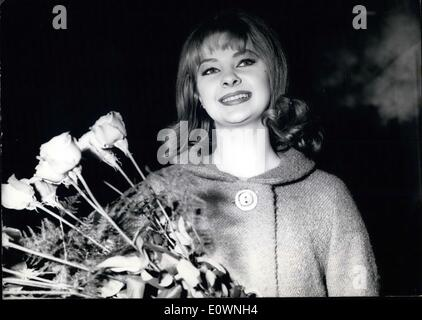 Jan. 01, 1964 - Mandy, oh Mandy.. you have come. Thanks alot. Now the photographers can sleep and nobody on the - Stock Photo