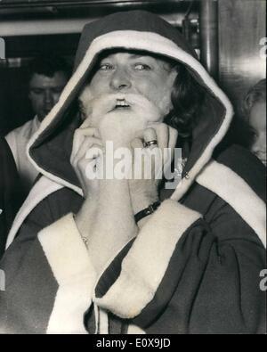 12. Dezember 1965 - Ingrid Bergman Ehrengast der Variety Club gt. Britain Mittagessen im Savoy: Ingrid Bergman war - Stockfoto