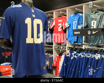 Modell's Sporting Goods Store Interior, NYC - Stock Photo