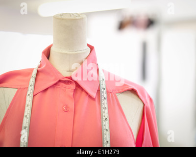 Tape Measure On A Tailors Dummy Stock Photo Royalty Free