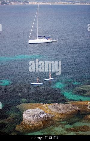 var ile des embiez the paul ricard oceanographic institute stock photo royalty free