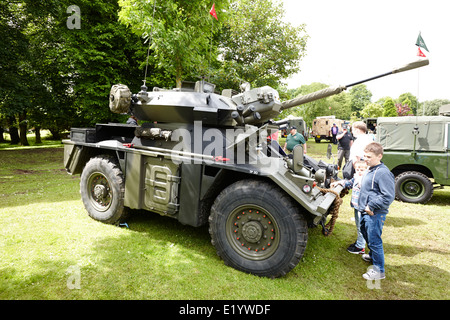 Armoured Armored Car Military Vehicle 8x8 Stock Photo