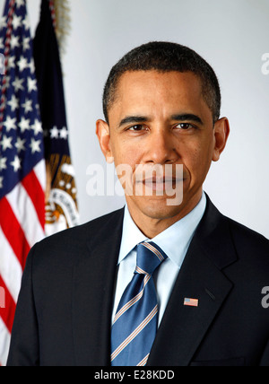 President Barack Obama, 44th President of the United States - Stock Photo