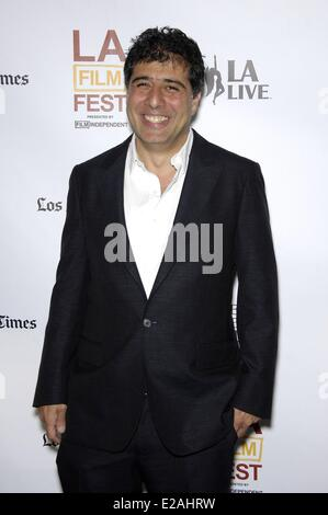 Los Angeles, CA, USA. 17th June, 2014. Hossein Amini at arrivals for Premiere of THE TWO FACES OF JANUARY at the - Stock Photo
