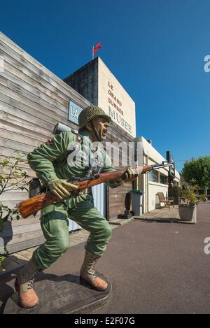 france calvados ouistreham the grand bunker the atlantic wall stock photo royalty free. Black Bedroom Furniture Sets. Home Design Ideas