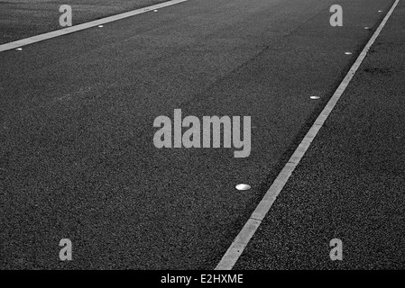 Paved road, full frame - Stock Photo