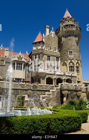Toronto casa loma toronto stock photo royalty free for Casa loma mansion toronto