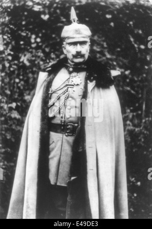 Wilhelm II, German emperor, 1859-1941, circa 1915 - Stock Photo