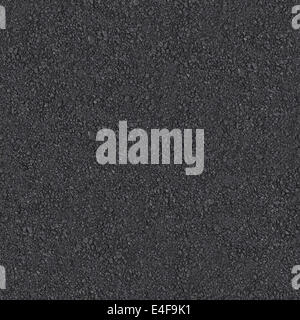 Seamless Asphalt Texture Tile Pattern Detailed Close-Up - Stock Photo