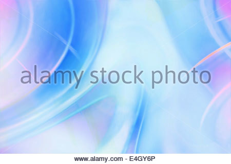 Full frame blue and pink pastel abstract pattern with light glare - Stock Photo