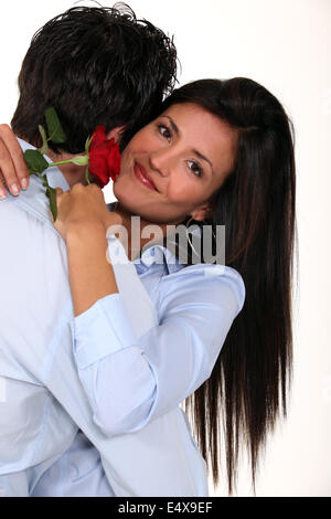Oh thank you darling. - Stock Photo