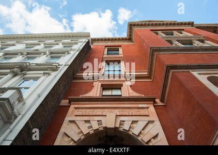 Buildings in South Kensington in London England UK - Stock Photo