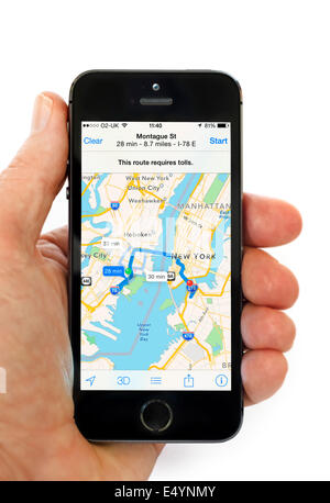 how to use the uber app on iphone