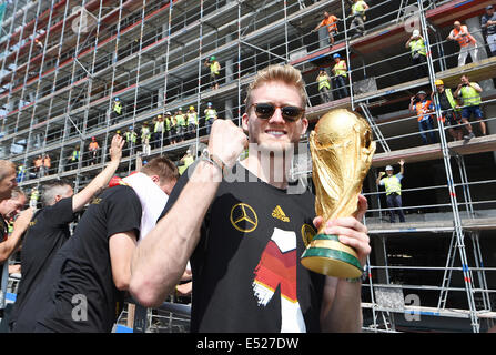 welcome party of the german nationalteam the new football world stock photo 71964542 alamy. Black Bedroom Furniture Sets. Home Design Ideas