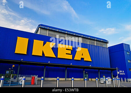 Ikea store wembley london stock photo royalty free for Ikea shops london