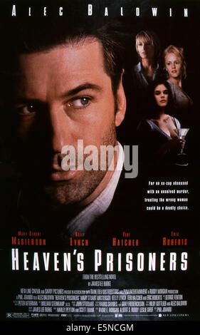HEAVEN'S PRISONERS, Alec Baldwin, rear from left: Kelly Lynch, Teri Hatcher, Mary Stuart Masterson, 1996, © Savoy - Stock Photo