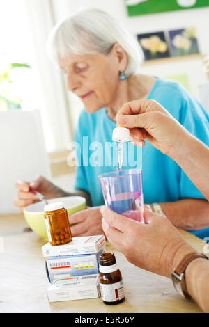 assisting with medication Healthcare providers play a unique and important role in assisting patients to carry out healthy behaviors medications taken once-a-day are preferred, but if the increased cost of a once-a-day is a major barrier, this is not a solution match regimen to patients' activities of daily living.