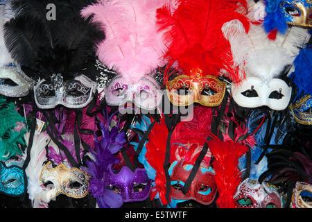 Venetian carnival masks - Stock Photo