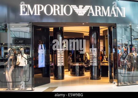 Armani store front in new york stock photo royalty free for Armani store nyc