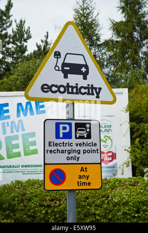 Motorway Services Electric Car Charging