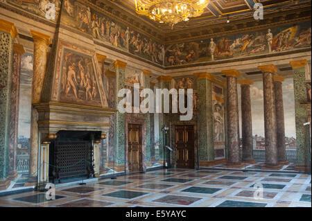 Rome, Italy 2014 - Villa Farnesina, a Renaissance suburban villa in the Via della Lungara, in the district of Trastevere. - Stockfoto