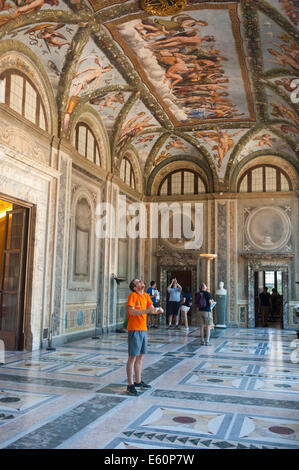 Rome Italy 2014 - Villa Farnesina is a Renaissance suburban villa in the Via della Lungara, in the district of Trastevere. - Stock Photo