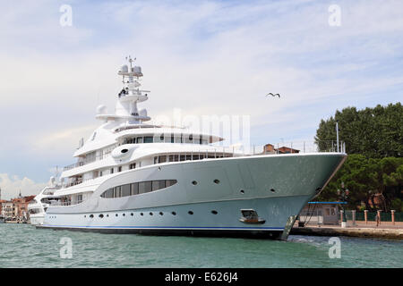 Yacht Mayan Queen IV, IMO 1009479, super yacht owned by Alberto Baillères - Stockfoto