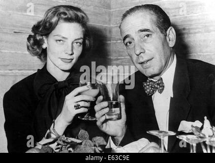 US. 13th Aug, 2014. FILE PIX: LAUREN BACALL (Sep. 16, 1924 - Aug. 12, 2014) born Betty Joan Perske, was an American - Stock Photo