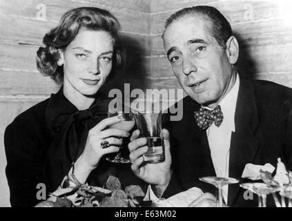 LAUREN BACALL (Sep. 16, 1924 - Aug. 12, 2014) born Betty Joan Perske, was an American film and stage actress and - Stock Photo