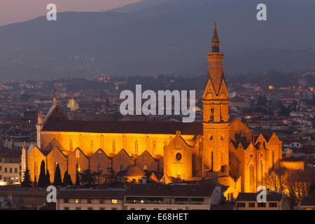 Church in Florence, Tuscany, Italy - Stockfoto