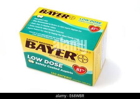 Bayer Aspirin Tablets Stock Photo 22353163 Alamy