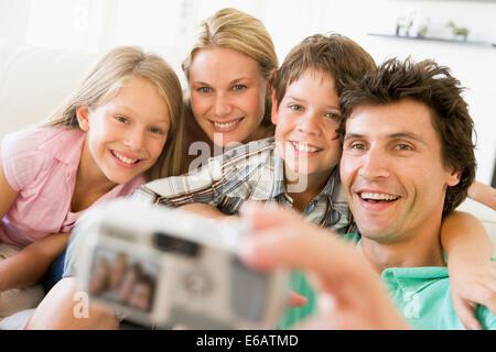 fun,happiness,photograph,family portrait - Stock Photo