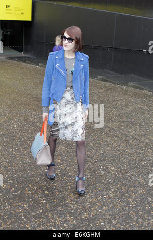 London Fashion Week At Tate Modern Feb