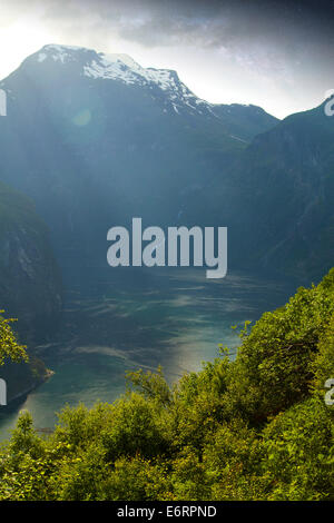 Night Fjord In The Most Beautiful Place On Earth Stock Photo Royalty Free Image 73052330 Alamy