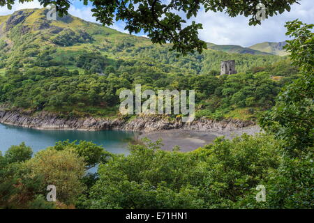 Dolbadarn Castle, Llanberis - Stock Photo