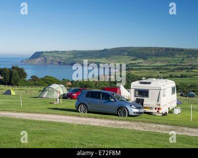 Simple  Farm Holiday Park  Caravan Park In Robin Hoods Bay Whitby UK