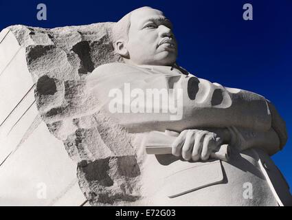 USA, Washington DC, National Mall  Martin Luther King Junior Memorial. - Stock Photo