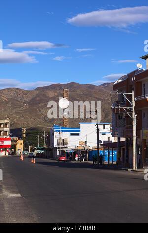 Street in Catamayo, Ecuador - Stock Photo