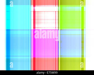 Colorful gradient strips abstract background - Stockfoto