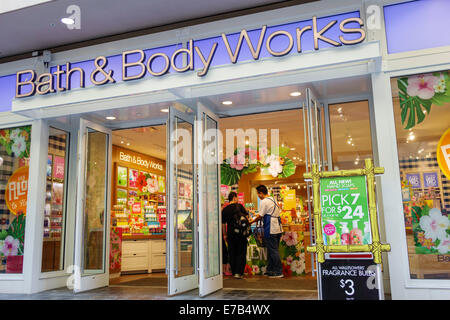 Bath And Body Works Store In The Mall Of America