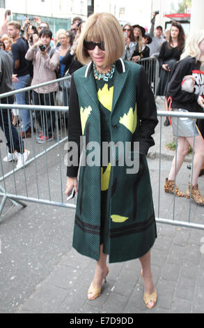 Anna Wintour London Fashion Week Alexander Mcqueen