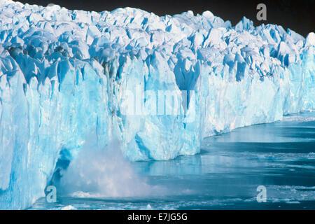 Perito Moreno, Glacier, Lago Argentino, Patagonia, Argentina - Stockfoto